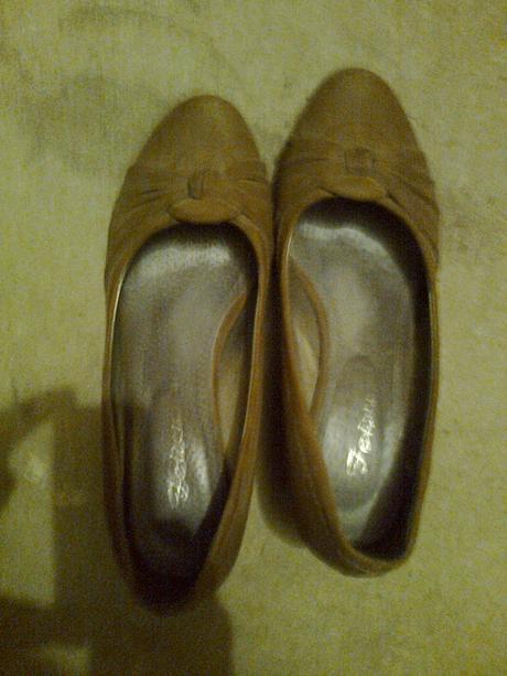 Topánky hnedé č.39, 39