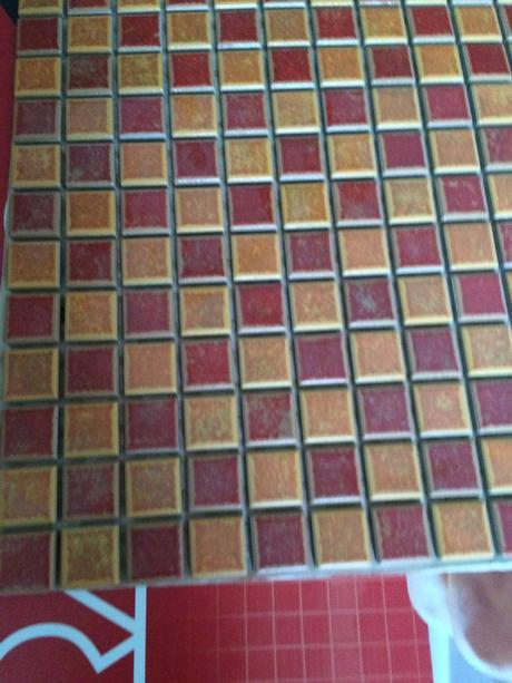 Obklad mozaika Chilli Rako GDM02066,