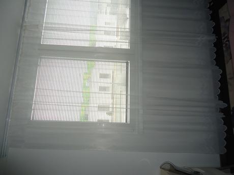 Biela záclona 2ks 180x230 /250/ cm,