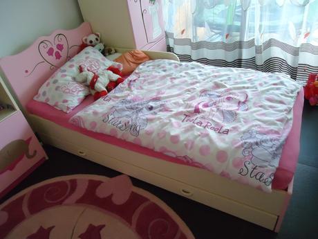 Ružový priceznovský koberec ovál 130x163 cm,