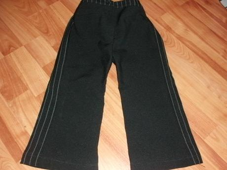 elegantne nohavice pre malu slecnu, 110