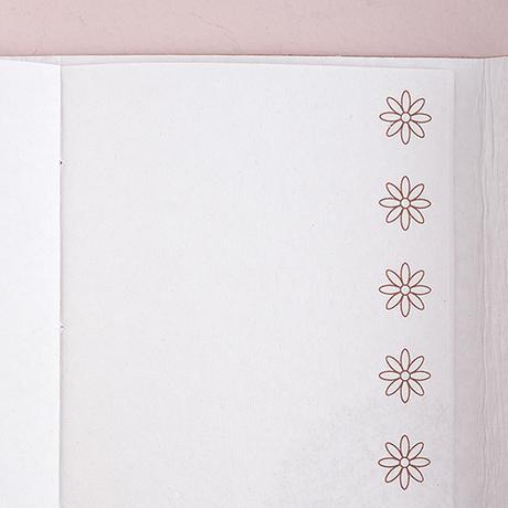 Biela Kožená Kniha pre Hostí - Boho Štýl,