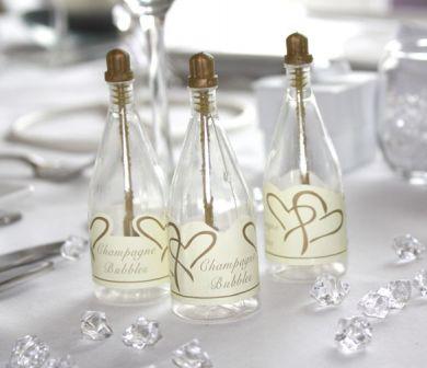 Bublifuk - Šampanské - Zlaté srdcia,