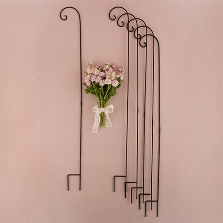Dekoratívne kovové ozdobné háky,