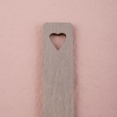 Drevené Kolíky so Srdiečkom - Sivá,