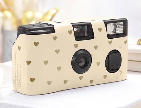 Fotoaparát - Ivory a Zlaté srdcia,