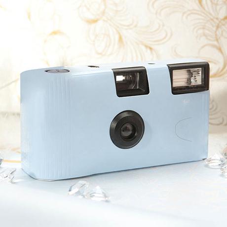 Fotoaparát - Pastelovo Modrá,