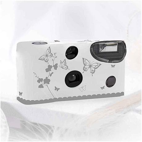 Fotoaparát - Strieborné motýle,