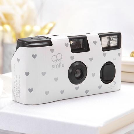 Fotoaparát - Strieborné srdcia ,