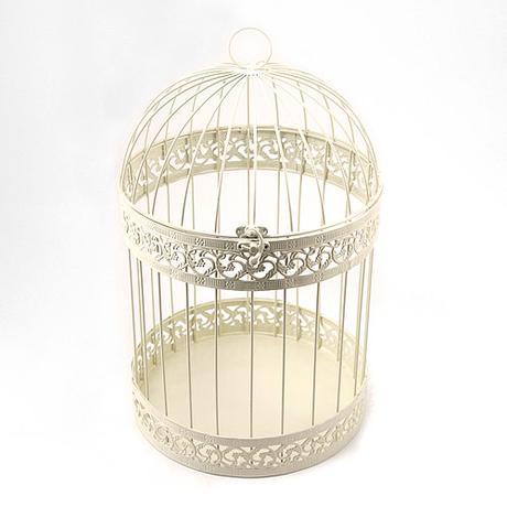 Klasická klietka pre vtáčiky,