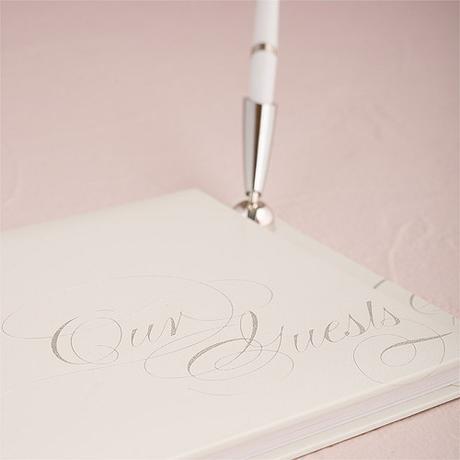 Kniha pre hostí - Čista Elegancia s perom ,