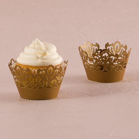 Košíčky na muffiny - Damaškový ornament,