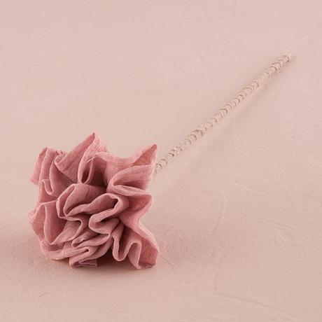 Látkový Riasený Kvet na Stonke - Stredný,