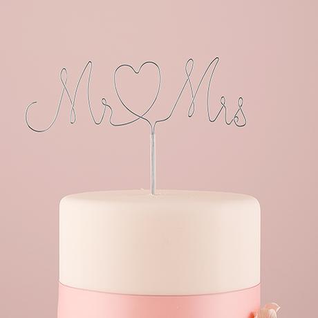 Mr. & Mrs. - Ozdoba na tortu,