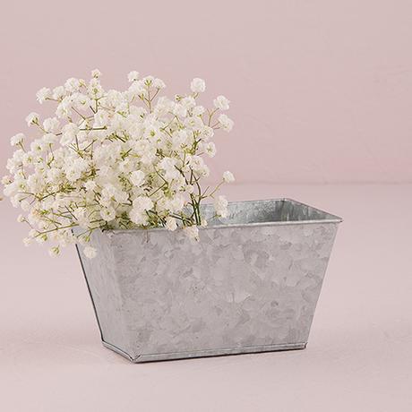 Obdĺžnikový Plechový Kvetináč,