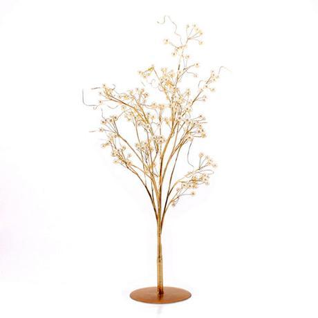 Okrasný dekoračný strom - Perly & Vintage,