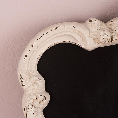 Ornamentová Vintage Tabuľa - Antická Biela,