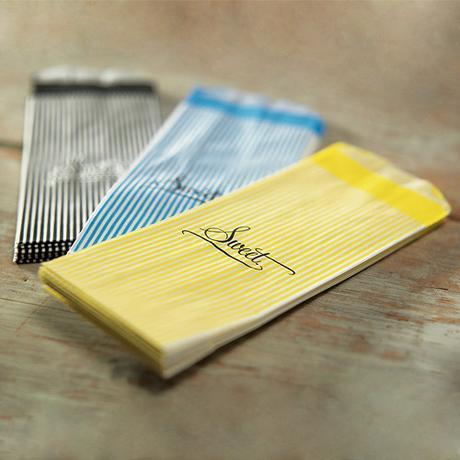 Papierové Vrecúško - Farebné Prúžky,