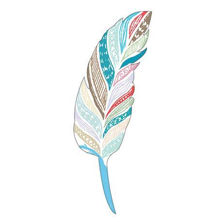 Papierové Vtáčie Pierko - Malé,