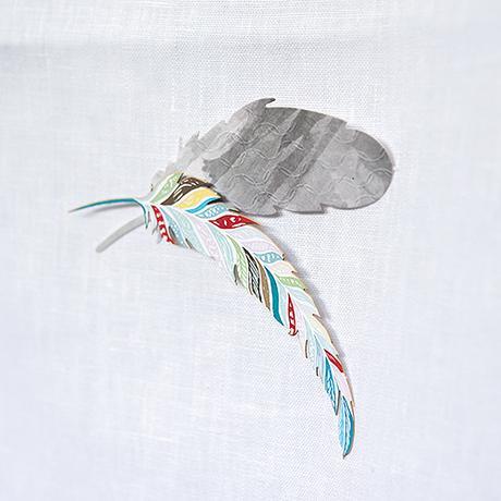 Papierové Vtáčie Pierko - Veľké,