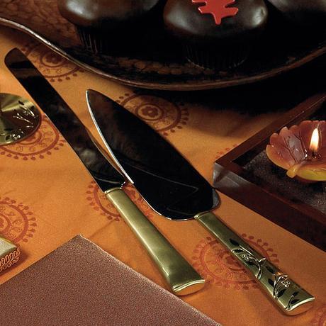 Servírovací set - Benátske zlato,