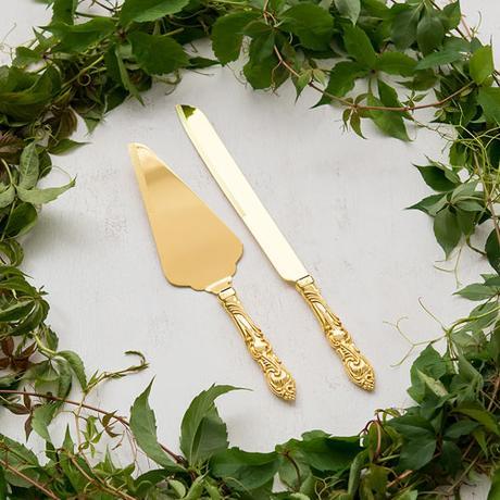 Servírovací Set - Klasická Zlatá Romanca,