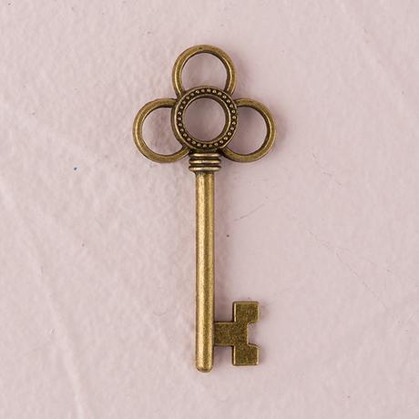 Starožitný kľúč - Prepletené Kruhy,