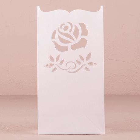 Svadobné lampášiky - Ruža,