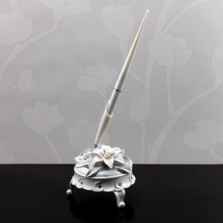 Svadobné pero - Kráľovské ľalie,