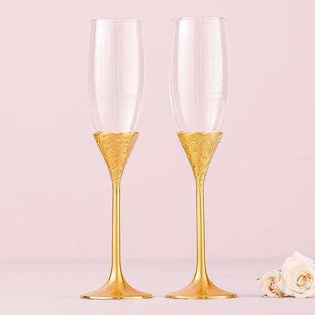 Svadobné Poháre - Klasické Zlato,
