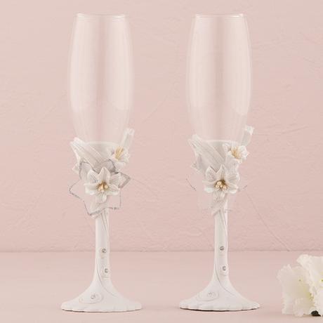 Svadobné poháre - Kráľovské ľalie ,