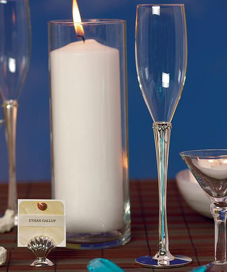 Svadobné poháre s krúžkom kryštálikov ,