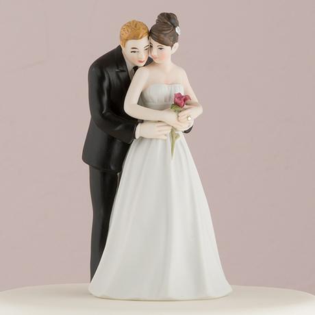 Svadobný pár - Áno pre ružu,