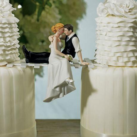 Svadobný pár - bozky a bozky,