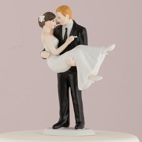 Svadobný pár - V jeho náručí,