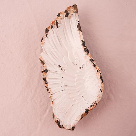 Tanierik - Vtáčie Krídlo - Ošúchaná Biela,