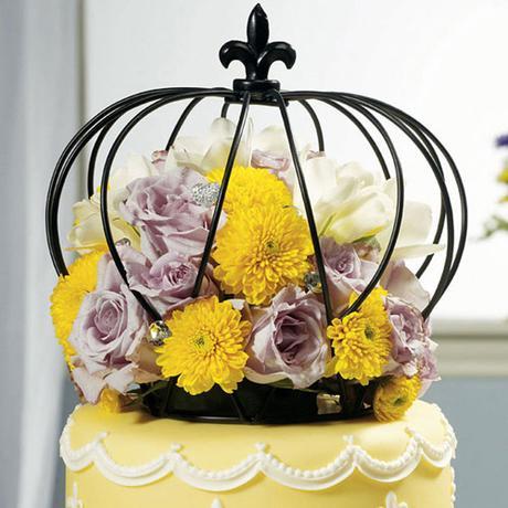 Veľká dekoračná koruna na tortu ,