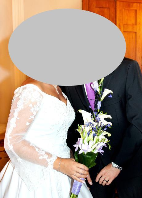 Svatební šaty + spodnice zdarma - 40, 40