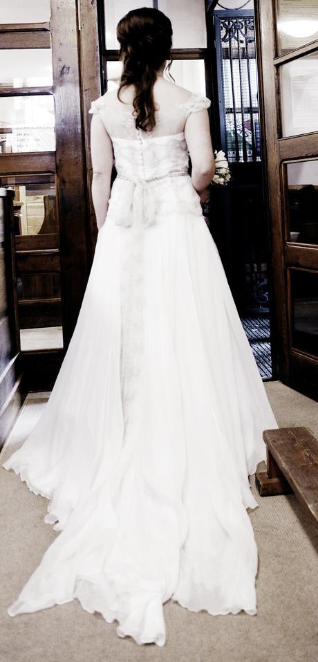 Svatební šaty vel. 36-38, 36