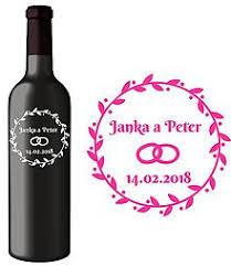 Etikety na víno,