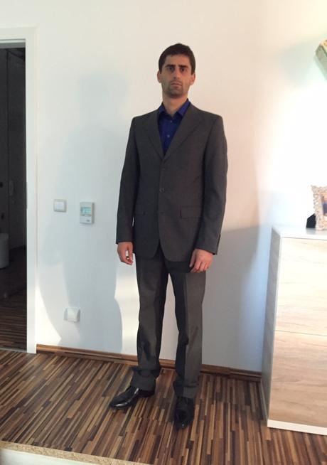 Panský oblek Zara, 48