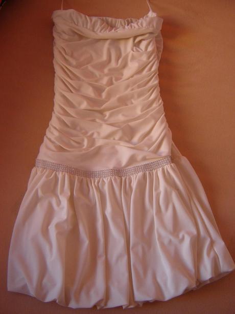 Luxusní svatební / popůlnoční šaty zn. Press, 40