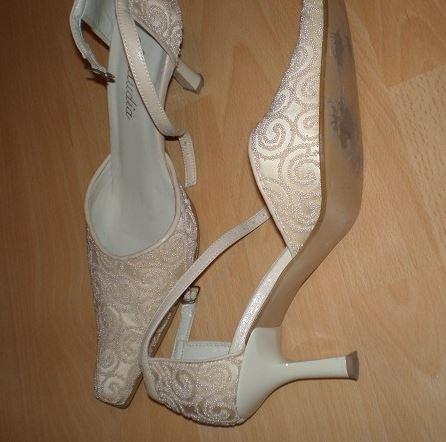 Svatební boty zn. Klaudia, 40