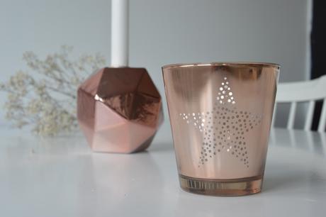Porcelánový svícen+ skleněný svícen,