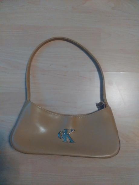 Bežová kabelka do ruky , XS
