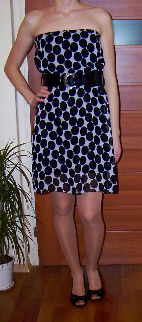 bodkované šaty, 36