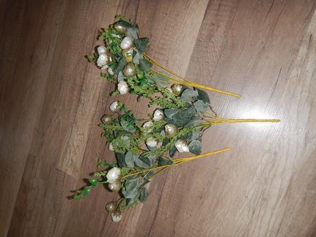 umělé kytice,