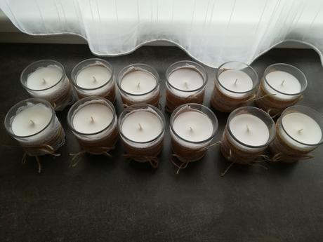 Svíčky ve skle PRODÁNO ,