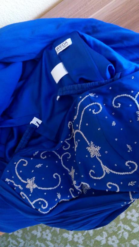 Spoločenské šaty značky Weda - kráľovská modrá, 50