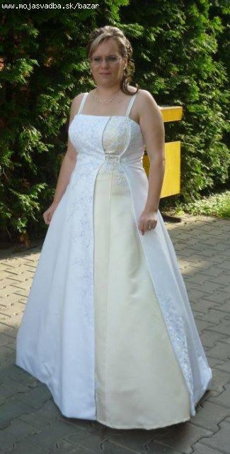 svatobné šaty, 40